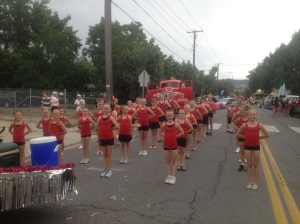 Handcart Days parade